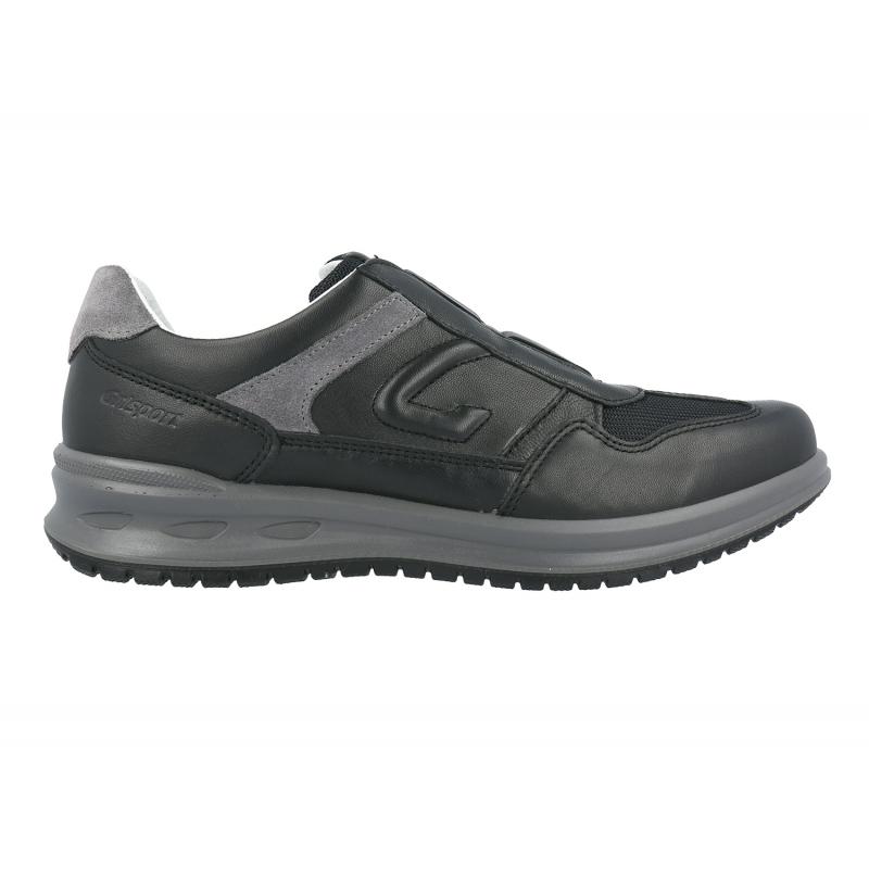 Grisport pantofi din piele cu talpa Active injectata multistrat Carter