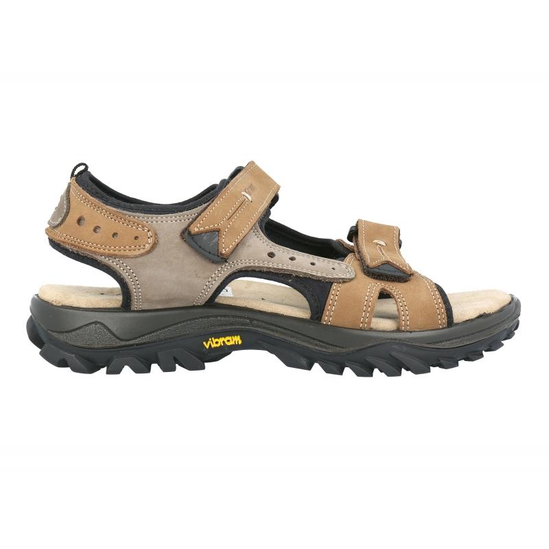 Grisport sandale din piele de munte , oras cu talpa Vibram Gobi